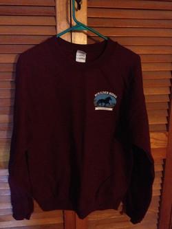 BR Sweatshirt Front-Maroon