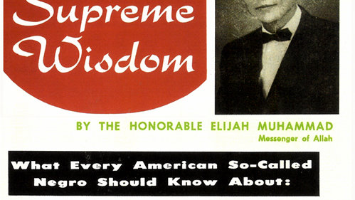THE SUPREME WISDOM VOL. 2 - What Every American So-Called Negro Should Know