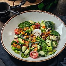 Салат с авокадо и креветками «Тай шримп»