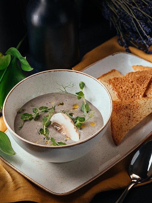 Крем - суп « Грибной капучино»