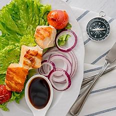 Шашлычки- брошетто  из филе семги