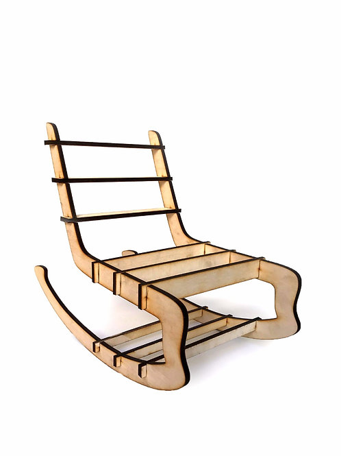 DIY Doll Furniture - Rocking Chair