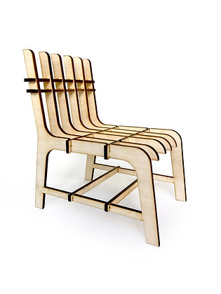 DIY Doll Furniture - Dinning/Desk Chair