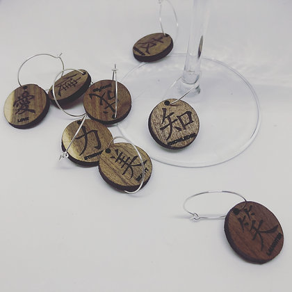 Beverage Glass Tags