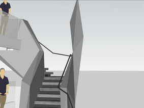 Stair Handrail Model