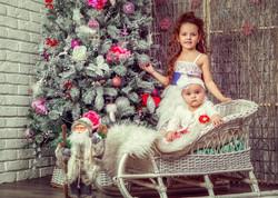 Студийная детская фотосессия