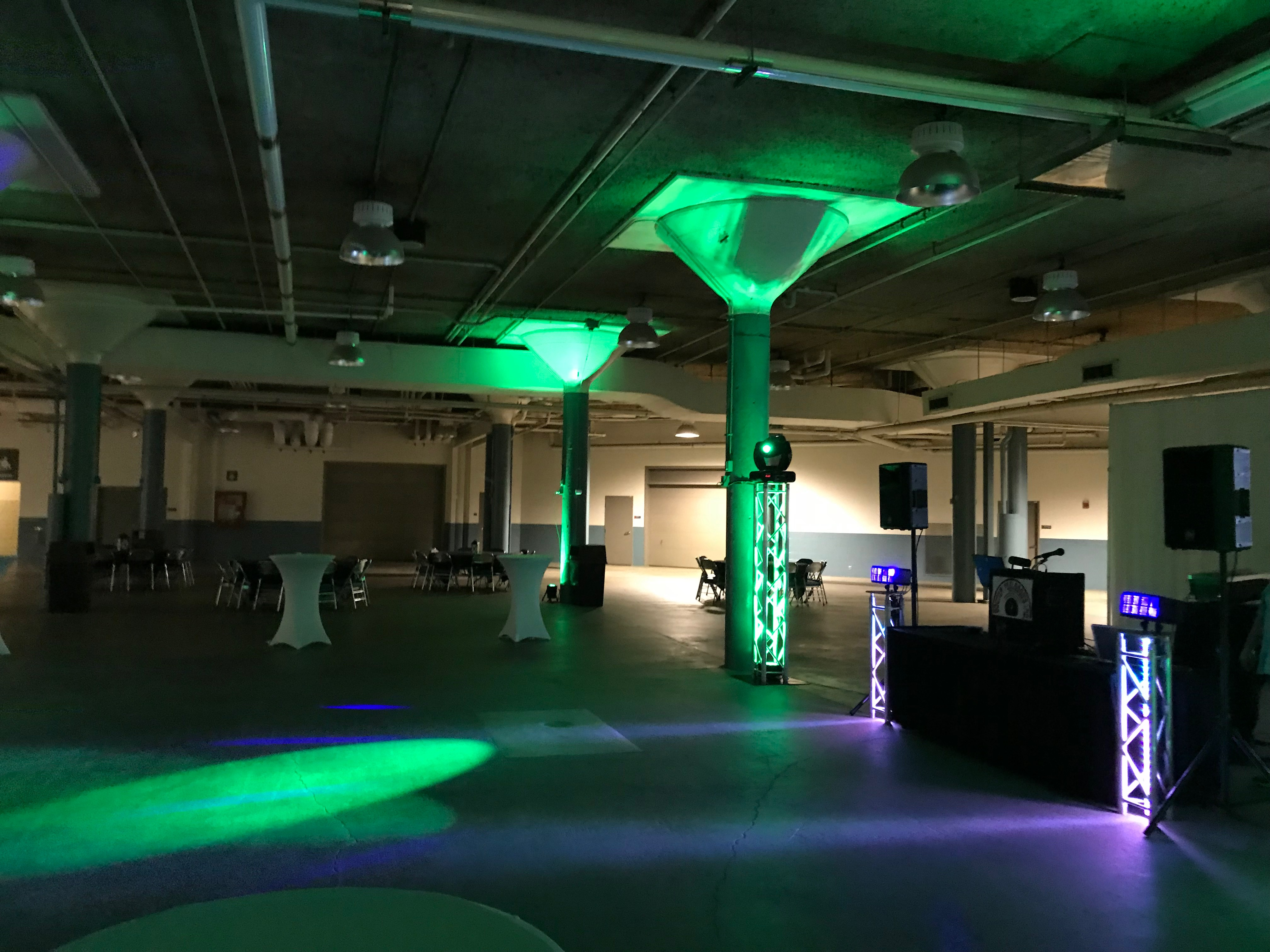Transforming the place into a party