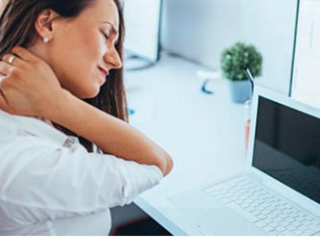 Tensione al collo e dolore alle  spalle possono portare a problemi anche agli occhi by Essilor