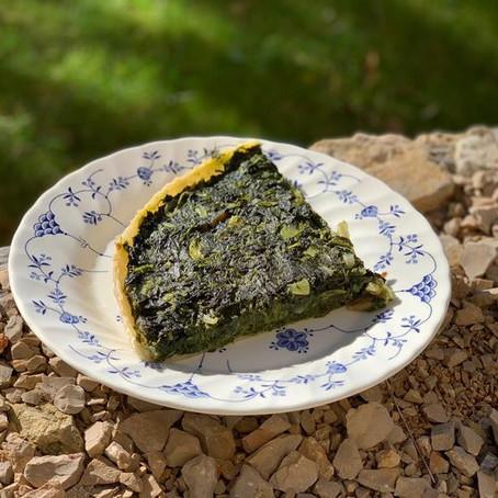 Gâteau d'épinards