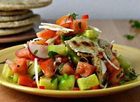 Soraya's Fatush Salad