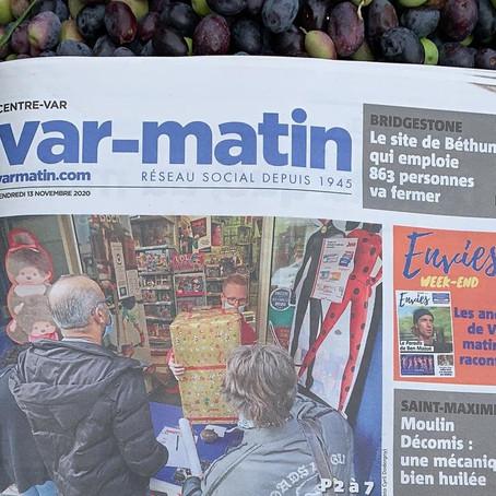 Au Marché Du Coin dans les news!