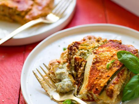 Vegan & Gluten Free Italian Lasagna