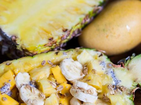 Pineapple Vegan Breakfast Bowl