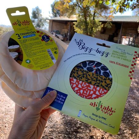 BEE WRAP : Une nouvelle façon de conserver vos aliments