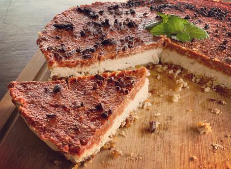 Tropical Mamey Cheesecake