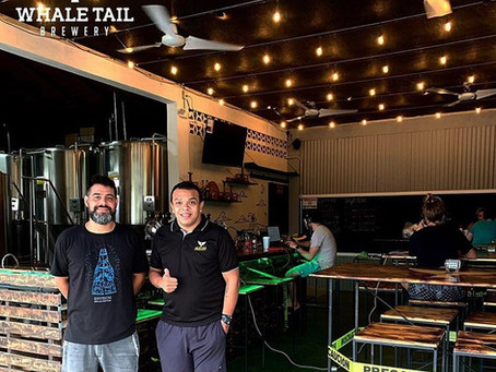 Uvita celebrated the opening of the Whale Tail Brewery