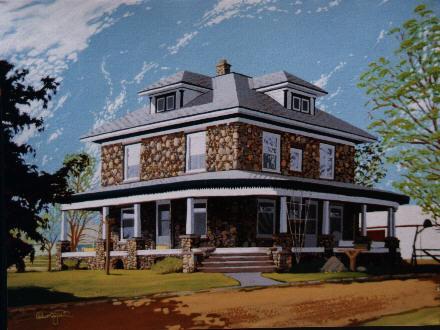 """""""Stone House in Rosebush, MI"""""""
