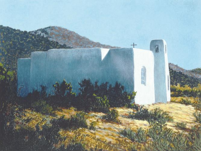 """Church at Golden, NM"""