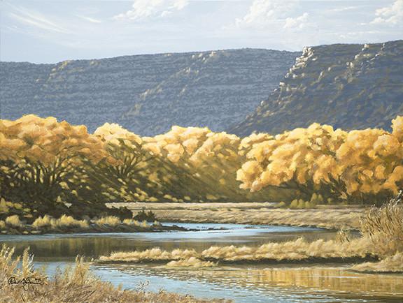 """Cottonwood Campground, San Juan River, NM"""