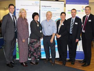 Clinicians together shape future services