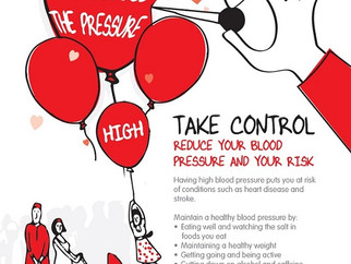Warrington Borough Council is reminding residents to keep an eye on their blood pressure.