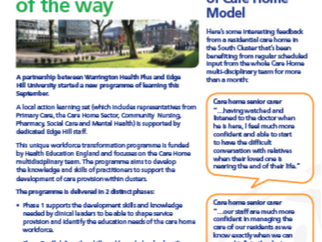 Issue 2 of the Care Home newsletter now available