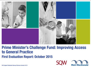 National Evaluation of Prime Minister's Challenge Fund