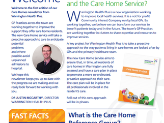 Dedicated Newsletter for Care Homes Service Launched