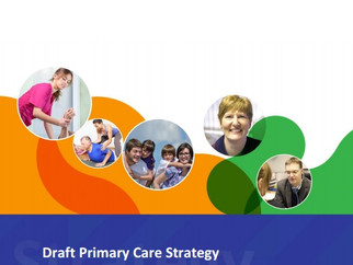Don't miss your chance to have your say on the future of Primary Care!