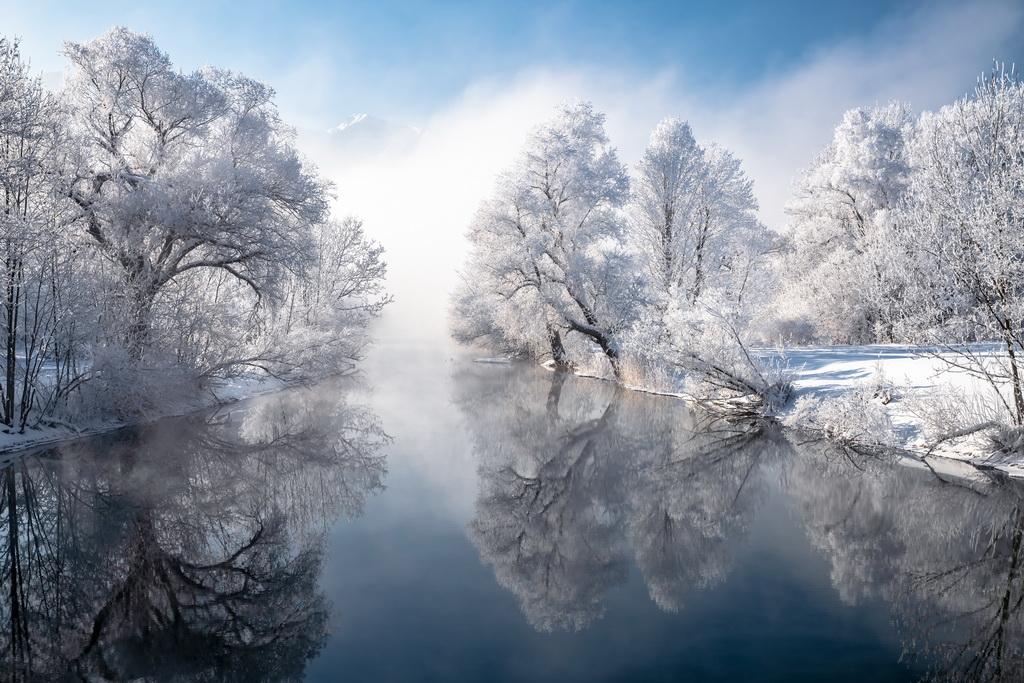 Winter am Kochelsee