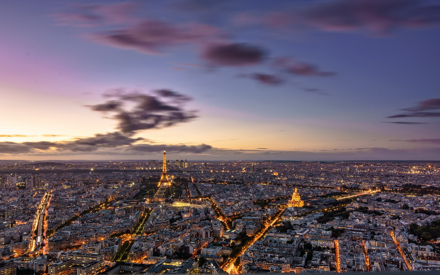 Paris Cityview  © Tour Eiffel-Illumi