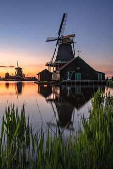 Sonnenuntergang in Holland