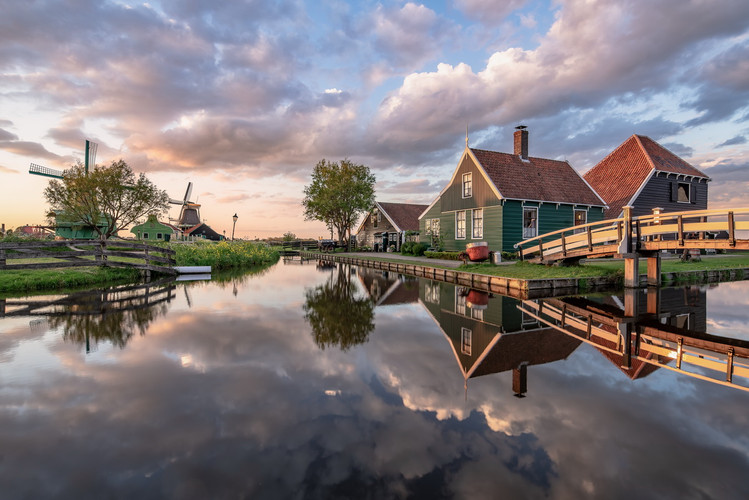 Abends in Holland