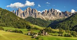 Dolomite Summer Landscape