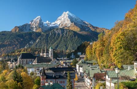 Berchtesgaden im Herbst
