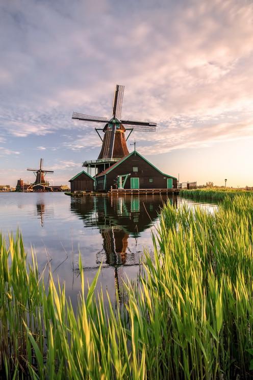 Abendstimmung in Holland