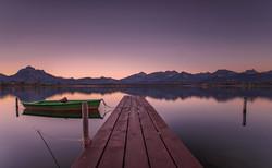 Sunset Bavaria