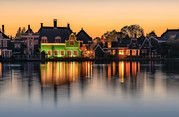 Holland am Abend