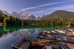 Lago di Fusine, Italy