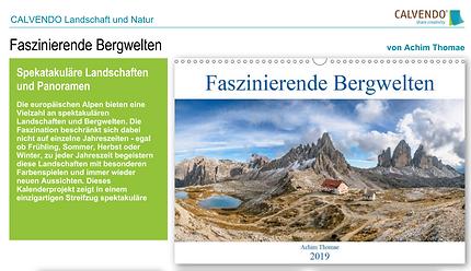 Faszinierende Bergwelten