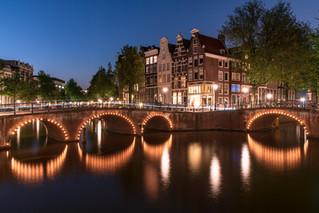 Grachtenidylle in Amsterdam