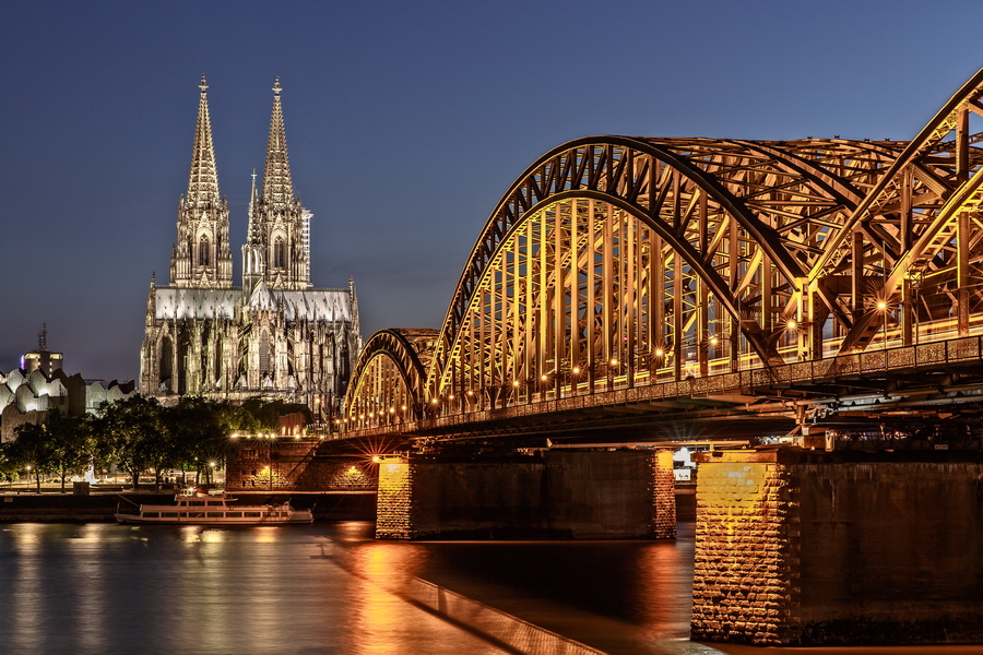 Classic View of Cologne