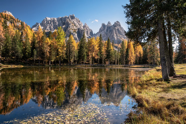 Herbst in den Dolomiten