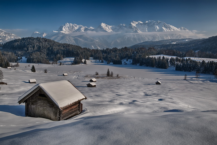 Bavarian Winter Landscape