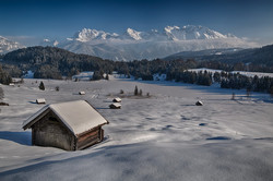 Bavarian Winter Landscape