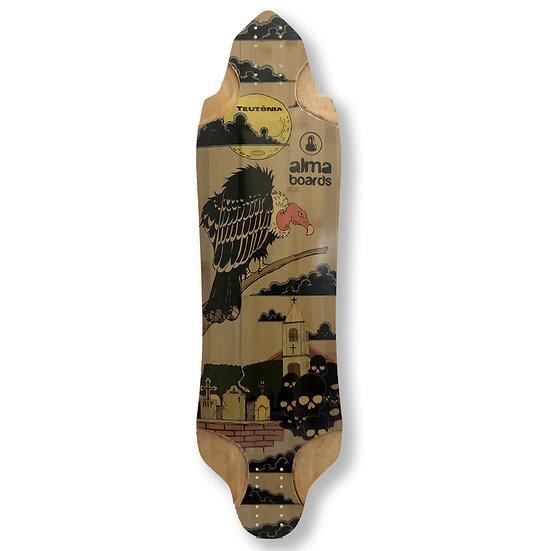 Shape Longboard Alma Teutônia - 100% bambu