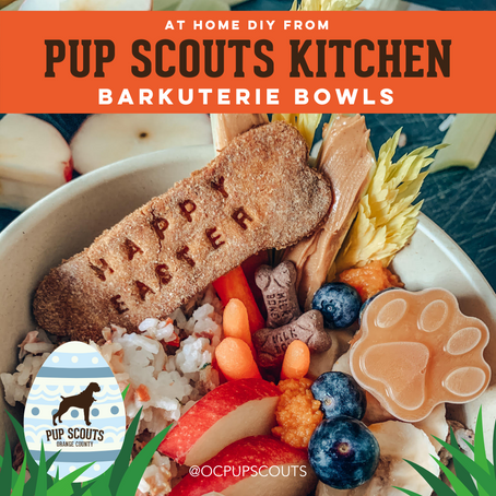 Pup Scouts Kitchen: Barkuterie Bowls