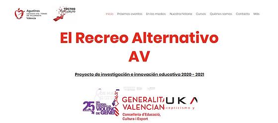 nueva web para el recreo alternativo 01.