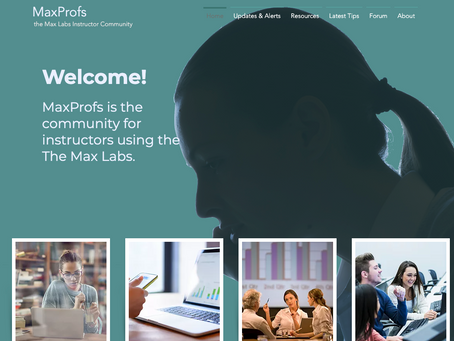JUST IN! The New and Improved MaxProfs!