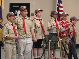 Troop 59 Welcomes New Scouts